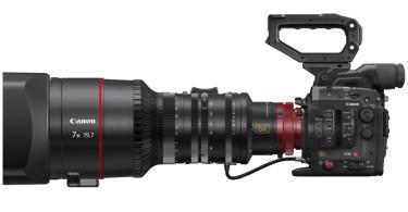 Bild der 8K Kamera von Canon