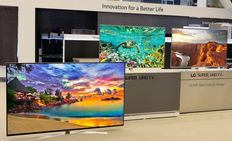 LG 8K Fernseher